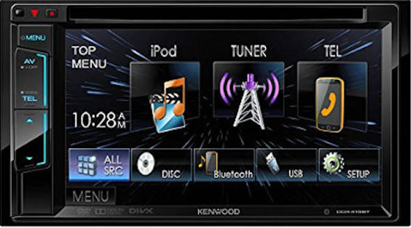 Kenwood DDX 416BT head unit double din terbaiik