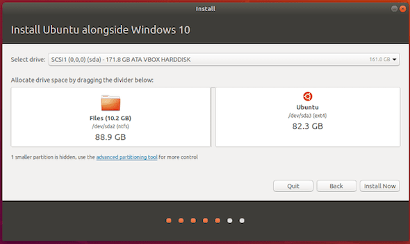 cara windows 10 dan ubuntu dual boot 18b