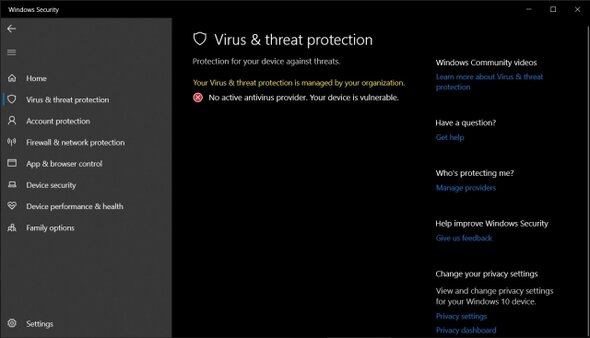 Menonaktifkan Windows Defender 12
