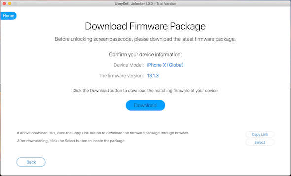 ios firmware download