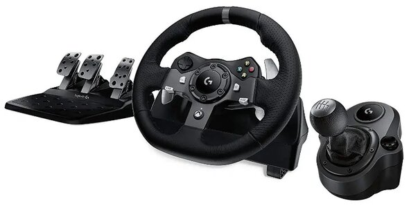Logitech G920 Driving Force Racing Wheel simulator balap terbaik