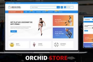 Orchid Store WordPress Theme