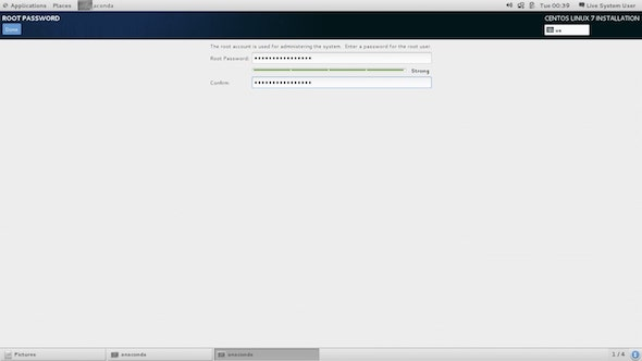 Set Up Root Password Cara Install CentOS 7