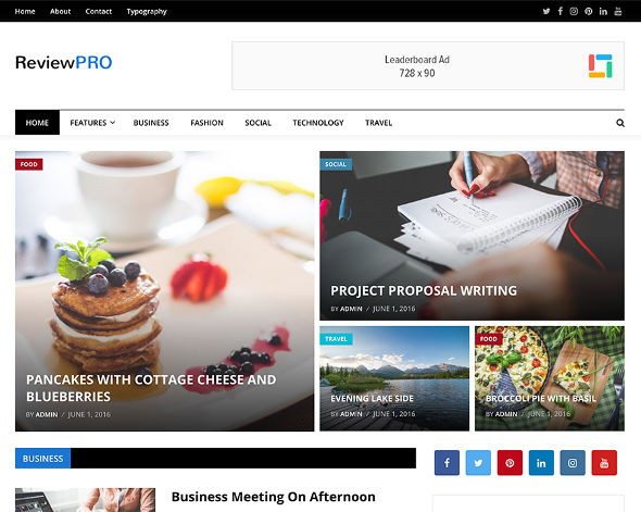 reviewpro tema wordpress murah