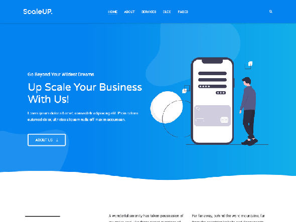 scaleup pro WordPress Theme