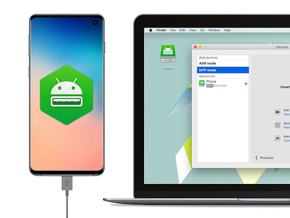 Macdroid file transfer