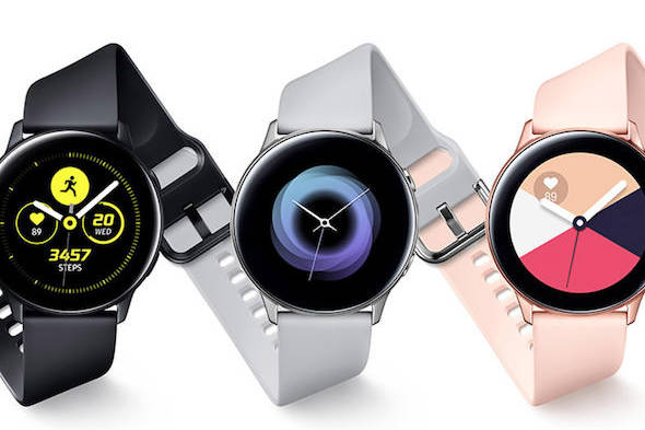 Samsung Galaxy Watch Active jam tangan pintar