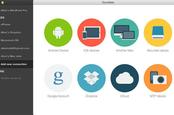 SyncMate android file transfer mac